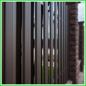 Забор из штакетника металлического